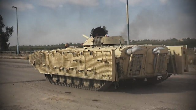 Armour in the Islamic State, the DIY works of Wilayat al-Khayr.jpg